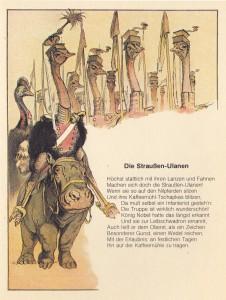 Wie die Tiere Soldaten werden wollten - Straussen Ulanen